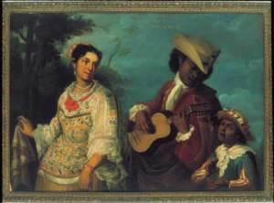 Juan Rodriguez Juarez casta painting