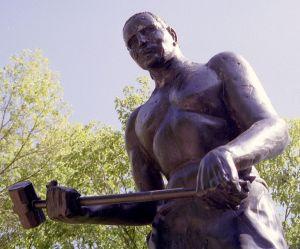 John_Henry statue, Talcott, Summers County, West Virginia