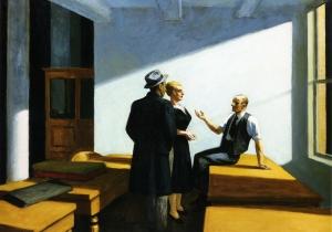 Edward Hopper conference-at-night
