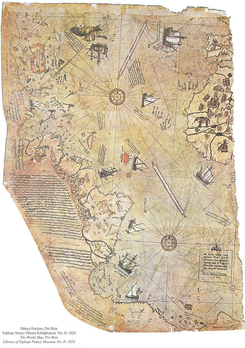Piri Reis world map