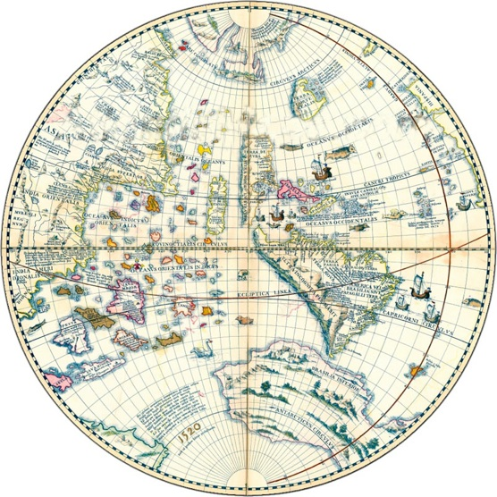 Johann Schoner Globe 1520
