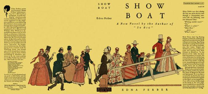 Show Boat dust jacket
