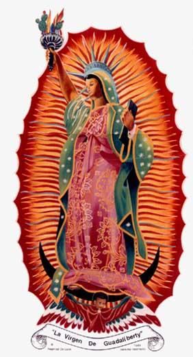 Nephtalí de León La virgen de Guadaliberty
